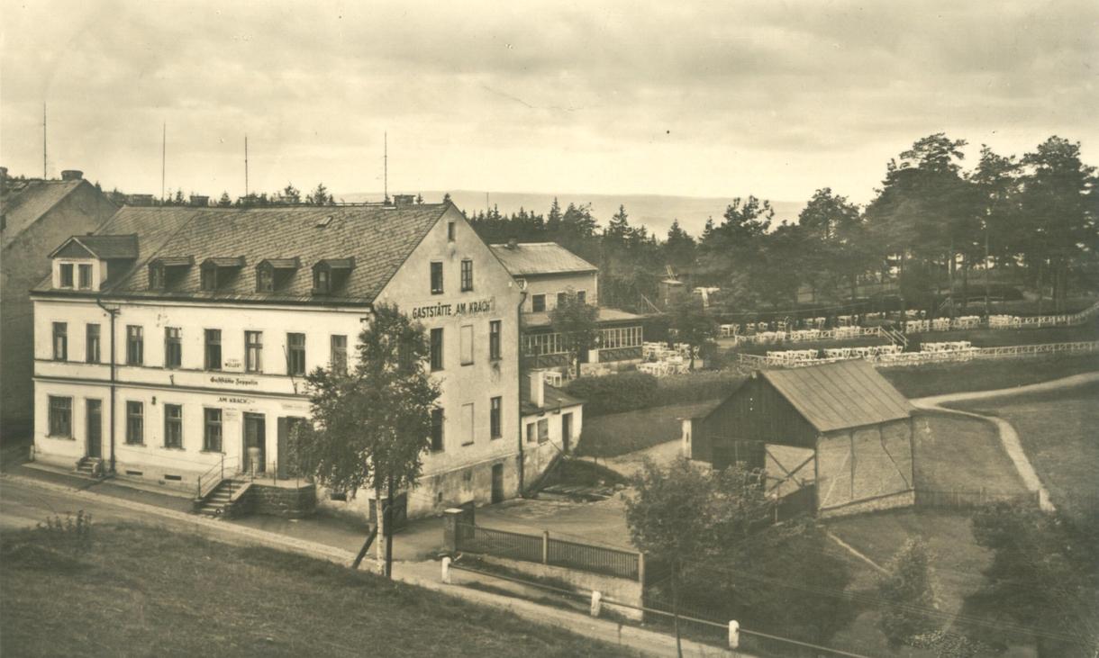 Olšová Vrata Krach rest Zeppelin 1943