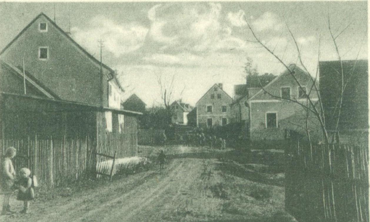 Olšova Vrata střed obce