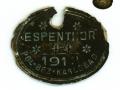 Známka_ESPENTOR_10_1918